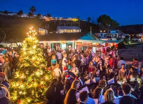 The 20th Annual Crystal Cove Tree Lighting December 3