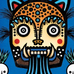 """""""Agave Expressionism"""" Murals on Display in L.A."""