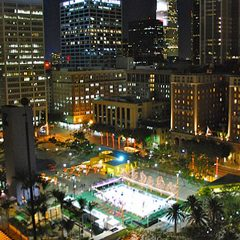 Holiday Ice Rink at Pershing Square Returns