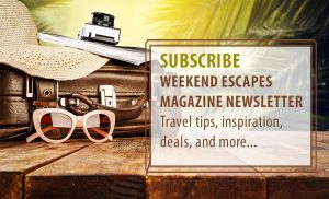 Weekend Escapes Weekly Newsletter