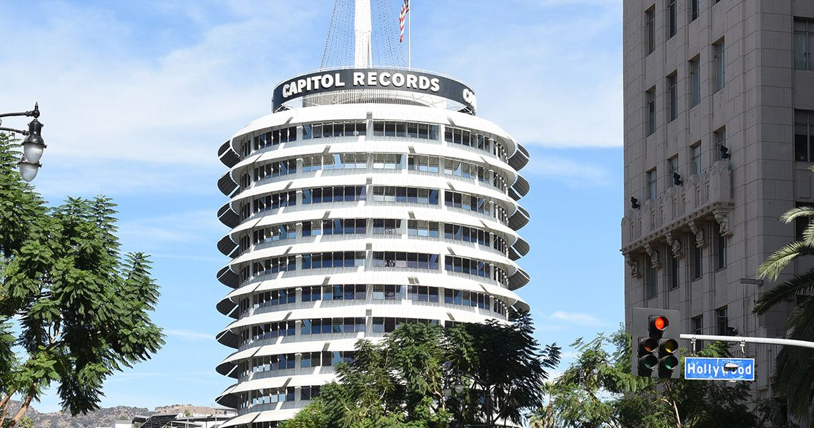 Iconic Capital Studios Building, Hollywood