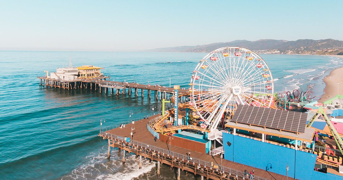 SoCalLife Mag Santa Monica Beach and Pier