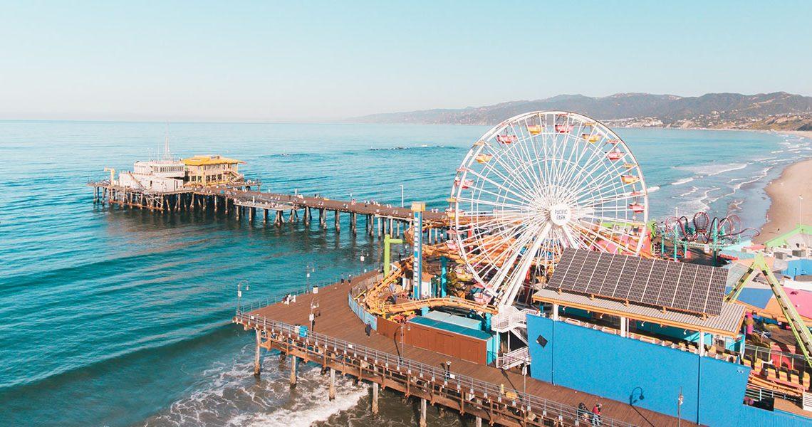 SoCalLife Mag Santa Monica Beach and Pier