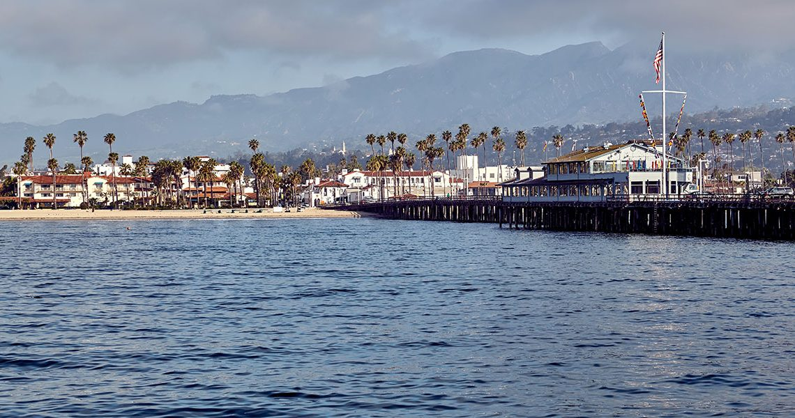 Santa Barbara Wharf - Southern California Life magazine